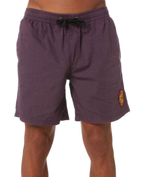 ACID EGGPLANT MENS CLOTHING SANTA CRUZ BOARDSHORTS - SC-MBNC263ACEG