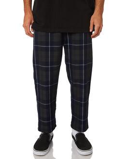 NAVY MENS CLOTHING STUSSY PANTS - ST09760NVY