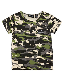 CAMO KIDS TODDLER BOYS RADICOOL DUDE TOPS - RD1022CAMO