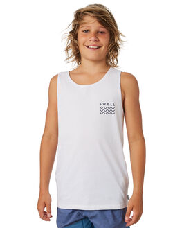 WHITE OUTLET KIDS SWELL CLOTHING - S3182274WHITE