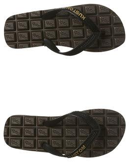 CHOCOLATE KIDS BOYS KUSTOM THONGS - 4846202ACHOC