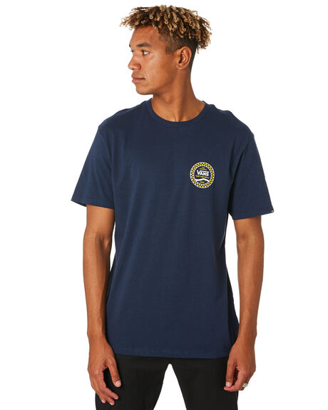 DRESS BLUES MENS CLOTHING VANS TEES - VNA4556LKZBLU