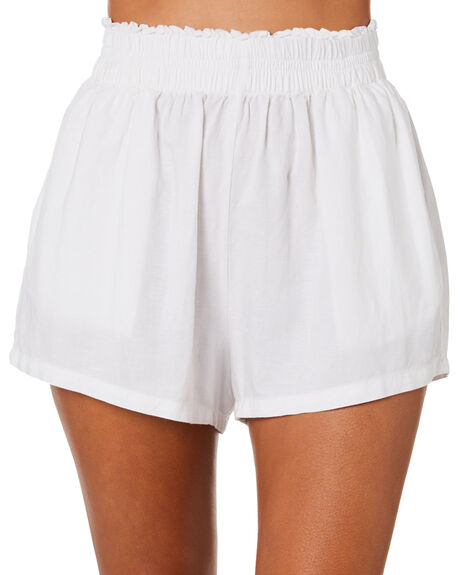 WHITE WOMENS CLOTHING SWELL SHORTS - S8212192WHITE