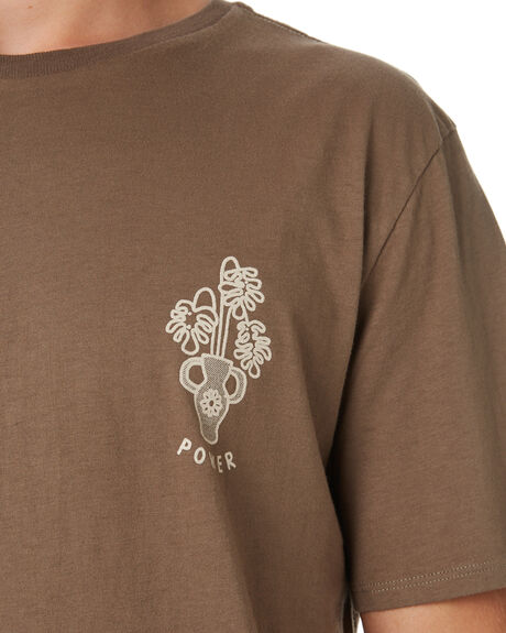 OLIVE OUTLET MENS SWELL TEES - S52011018OLIVE