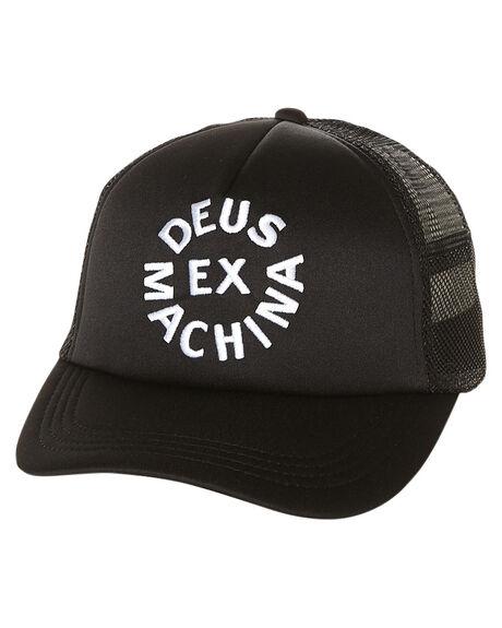94535b642b4 Deus Ex Machina Circle Logo Trucker Cap - Black