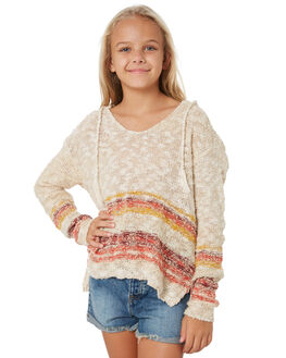 OATMEAL KIDS GIRLS RIP CURL JUMPERS + JACKETS - JSWAN10721