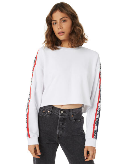 WHITE WOMENS CLOTHING LEVI'S JUMPERS - 56340-0005WHT