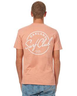 TERRACOTTA MENS CLOTHING OAKLAND SURF CLUB TEES - F17-101-TERTCTA