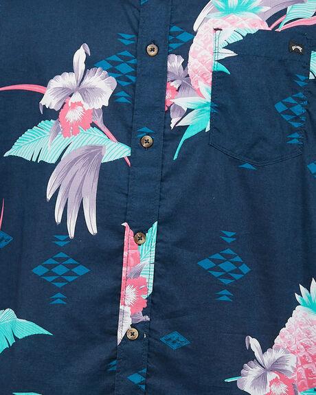 NAVY MENS CLOTHING BILLABONG SHIRTS - BB-9504203-NVY