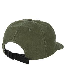 ARMY GREEN MENS ACCESSORIES THRILLS HEADWEAR - TS9-507FAMYG