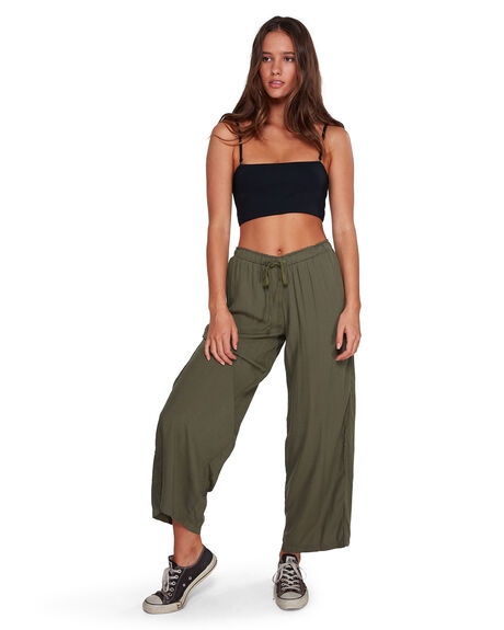 FOREST NIGHT WOMENS CLOTHING BILLABONG PANTS - BB-6591406-FN4