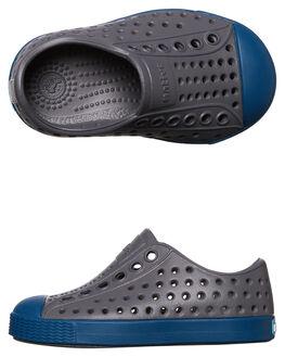 DUBLIN GREY BLUE KIDS TODDLER BOYS NATIVE FOOTWEAR - 13100100-1264