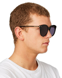 ALL BLACK MENS ACCESSORIES KAPTEN AND SON SUNGLASSES - KS-DP00V0302A12BBLK