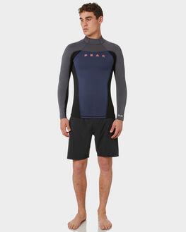 BLACK GREY BOARDSPORTS SURF PEAK MENS - PM710M0097