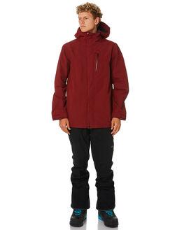 BURNT RED BOARDSPORTS SNOW VOLCOM MENS - G0651904BTR