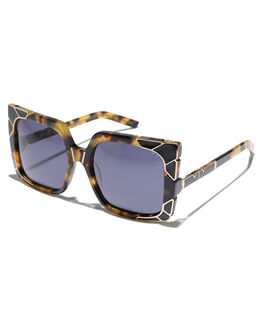 DARK TORT GOLD WOMENS ACCESSORIES PARED EYEWEAR SUNGLASSES - PE1603TBTRGLD