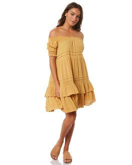 OCHRE WOMENS CLOTHING SAINT HELENA DRESSES - SH17HS408OCHRE