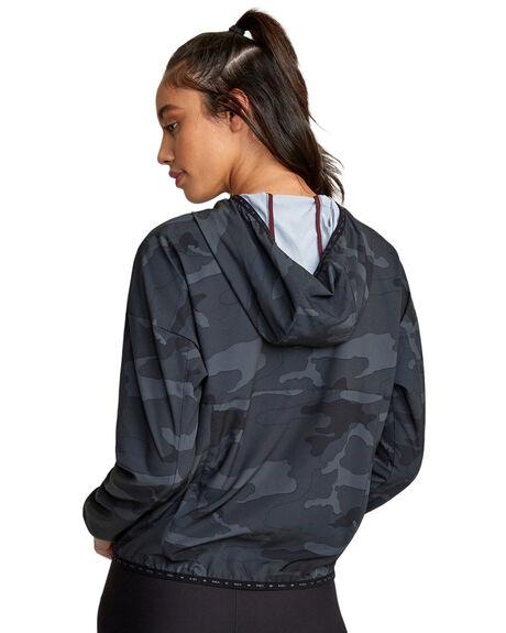 CAMO WOMENS CLOTHING RVCA ACTIVEWEAR - RV-R407891-CMO