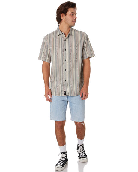 TAN MENS CLOTHING THRILLS SHIRTS - TS9-221CTAN