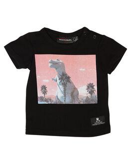 BLACK KIDS BABY ROCK YOUR BABY CLOTHING - BBT1914-RSBLACK