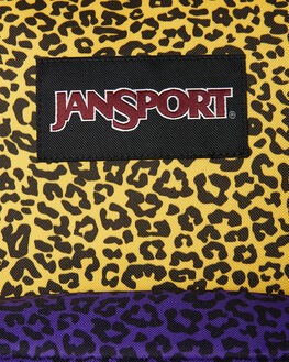 YELLOW LEOPARD LIFE WOMENS ACCESSORIES JANSPORT BAGS + BACKPACKS - JSTWK8-JS5P7