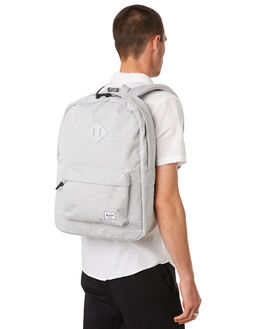 LIGHT GREY CROSSHTCH MENS ACCESSORIES HERSCHEL SUPPLY CO BAGS + BACKPACKS - 10007-02041-OSLTGRY