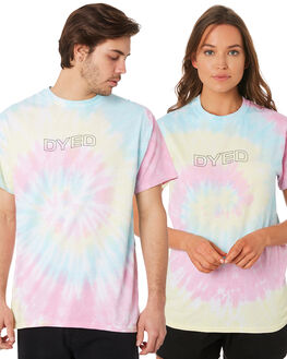 MULTI MENS CLOTHING DYED TEES - DY1001SRTIDYE