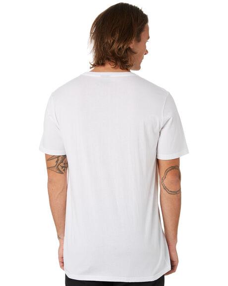 WHITE MENS CLOTHING GLOBE TEES - GB01930033WHT