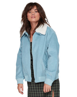 BLUE WOMENS CLOTHING ELEMENT JACKETS - EL-207452-B01