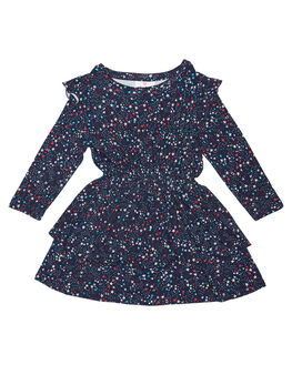 STARGAZER PRINT KIDS TODDLER GIRLS EVES SISTER DRESSES - 8010023PRNT