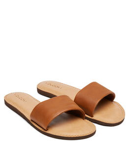 TAN WOMENS FOOTWEAR VOLCOM FASHION SANDALS - W0811816TAN