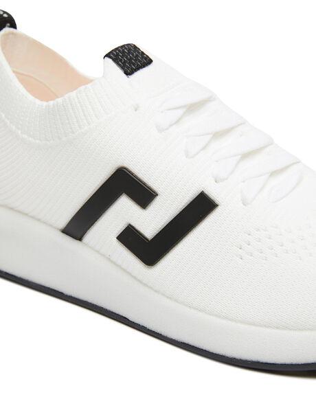 WHITE WOMENS FOOTWEAR ROLLIE SNEAKERS - SC00779WHT