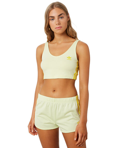 ICE YELLOW WOMENS CLOTHING ADIDAS ACTIVEWEAR - FK0481YLW