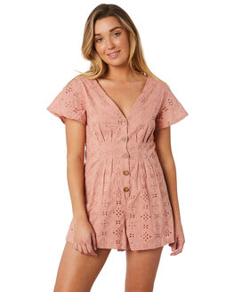 BLUSH WOMENS CLOTHING THE HIDDEN WAY PLAYSUITS + OVERALLS - H8184447BLUSH