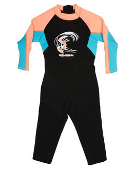 BLACK AQUA SURF WETSUITS O'NEILL STEAMERS - 4868BGAL4