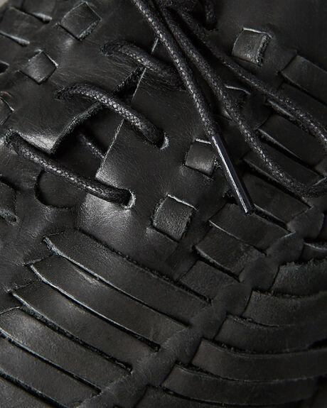 BLACK OILY MENS FOOTWEAR URGE SLIP ONS - URG16088BLK