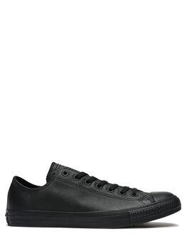 BLACK MONOCHROME WOMENS FOOTWEAR CONVERSE SNEAKERS - SS135253BLKMOW