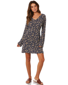 POLKA DOT POSY WOMENS CLOTHING ALL ABOUT EVE DRESSES - 6433037PRNT