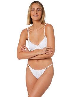 WHITE OUTLET WOMENS FELLA SWIM BIKINI BOTTOMS - FS-B-031WHI
