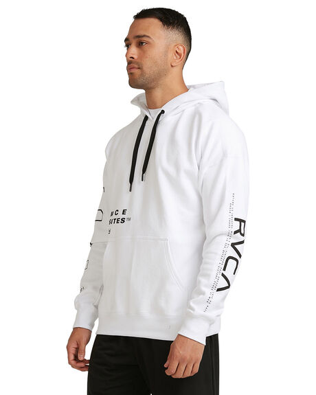 WHITE MENS CLOTHING RVCA JUMPERS - RV-R317160-WHT