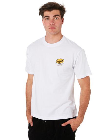 WHITE MENS CLOTHING RUSTY TEES - TTM2279WHT