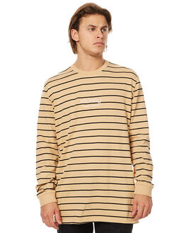 TAN MENS CLOTHING STUSSY TEES - ST076100TAN