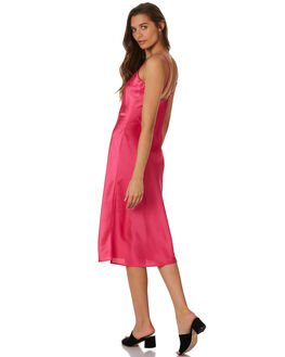 DEEP PINK OUTLET WOMENS LULU AND ROSE DRESSES - LU23736PINK