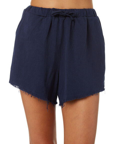 NAVY OUTLET WOMENS SWELL SHORTS - S8171233NAVY