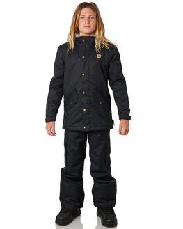 BLACK BOARDSPORTS SNOW DC SHOES KIDS - EDBTJ03025KVJ0