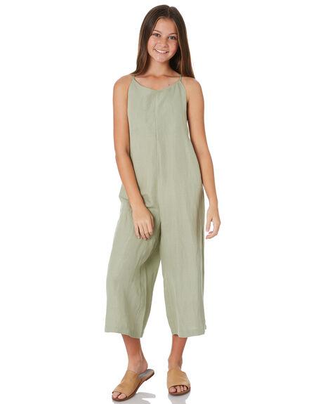SAGE KIDS GIRLS FEATHER DRUM DRESSES + PLAYSUITS - FDG104SGE