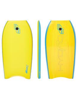 YELLOW SURF BODYBOARDS HYDRO BOARDS - 36008YEL