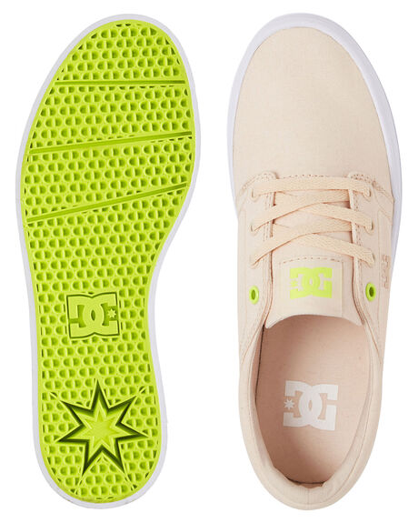 TAN ONE WOMENS FOOTWEAR DC SHOES SNEAKERS - ADJS300184-TA1