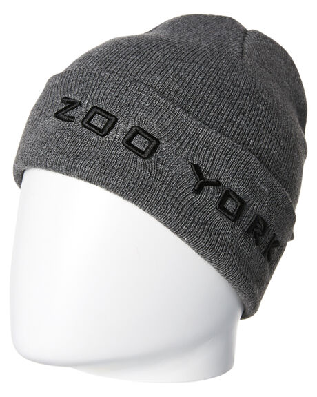 CHARCOAL MARLE MENS ACCESSORIES ZOO YORK HEADWEAR - ZY-MCA8185CHAR