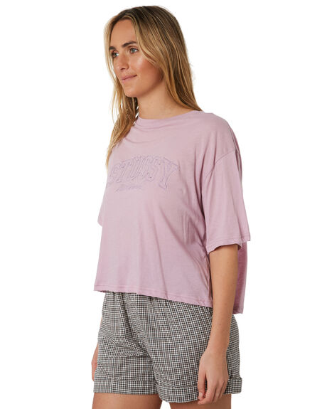 LILAC WOMENS CLOTHING STUSSY TEES - ST193000LIL